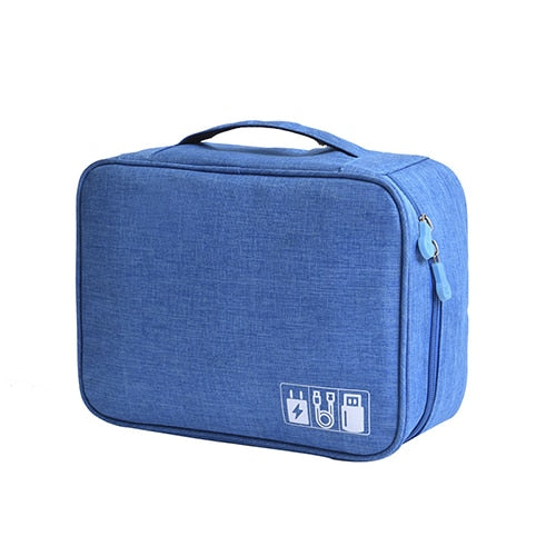 Agatha Travel Bags Travel Electronic Organizers Sky Blue