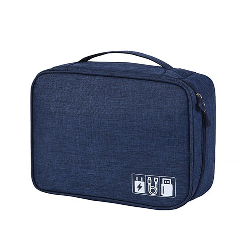 Agatha Travel Bags Travel Electronic Organizers Navy