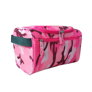 Agatha Travel Accessories Toiletry Bags Pink Camou