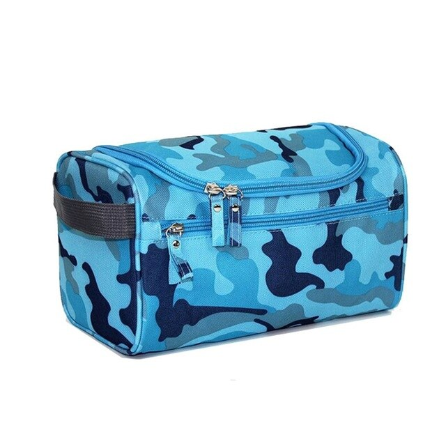 Agatha Travel Accessories Toiletry Bags Blue Camou