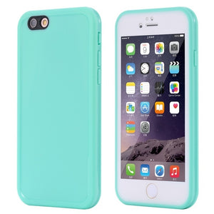 Agatha Travel Waterproof Phone Case for iPhone Mint