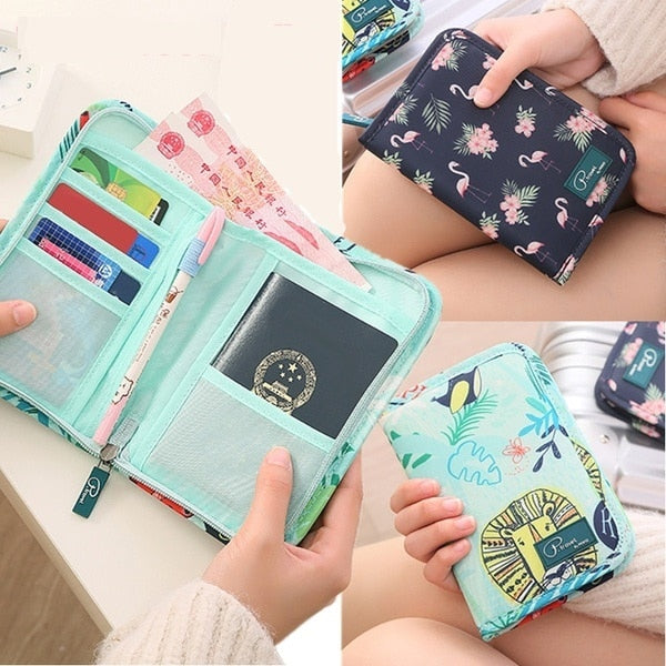 Agatha Travel Accessories Document Holder Wallet Detail_06
