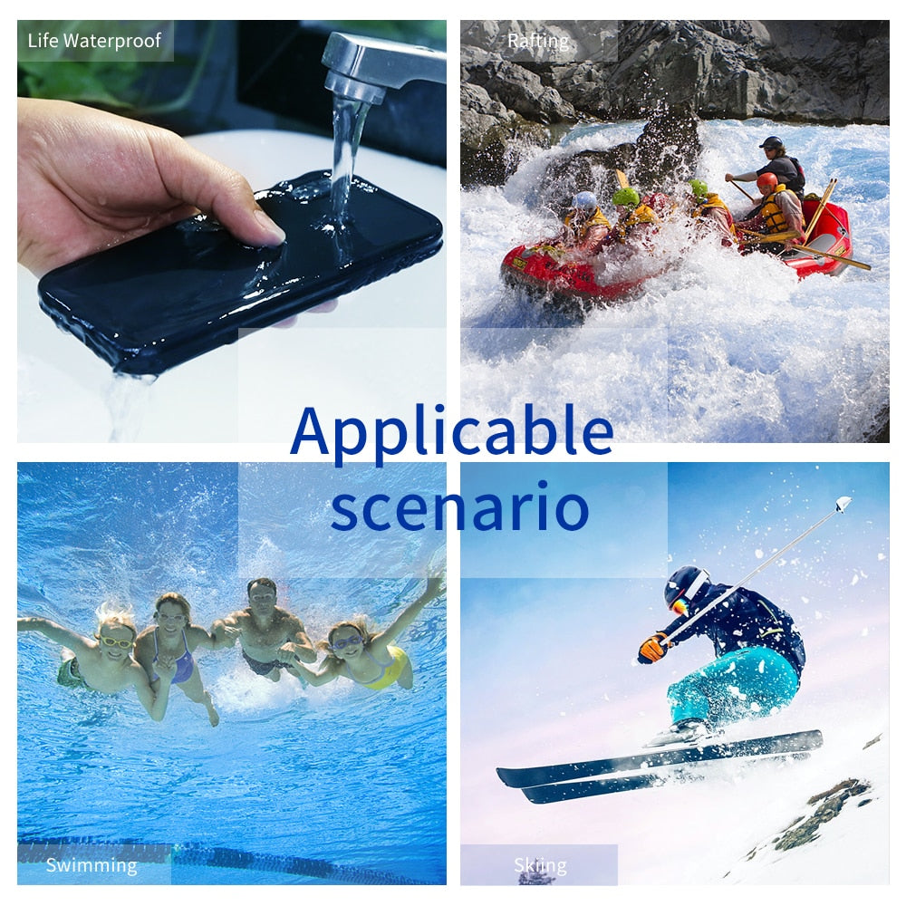 Agatha Travel Waterproof Phone Case for iPhone Detail_05