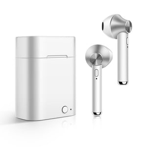 Agatha Travel Wireless Bluetooth Earphones Silver