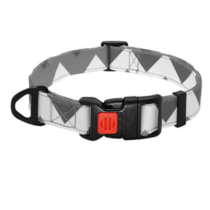 Agatha Travel Accessories For Pets Basic Collars Gray