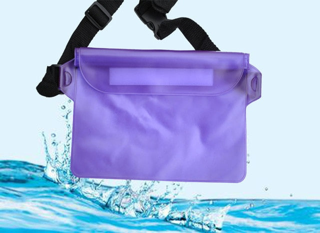 Agatha Travel Waterproof waist bag Purple