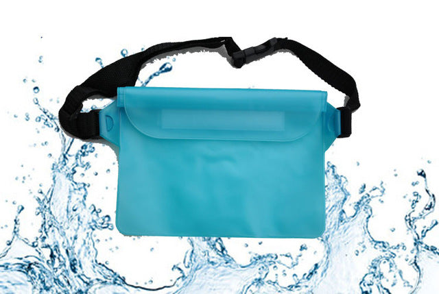 Agatha Travel Waterproof waist bag Light Blue