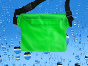 Agatha Travel Waterproof waist bag Green