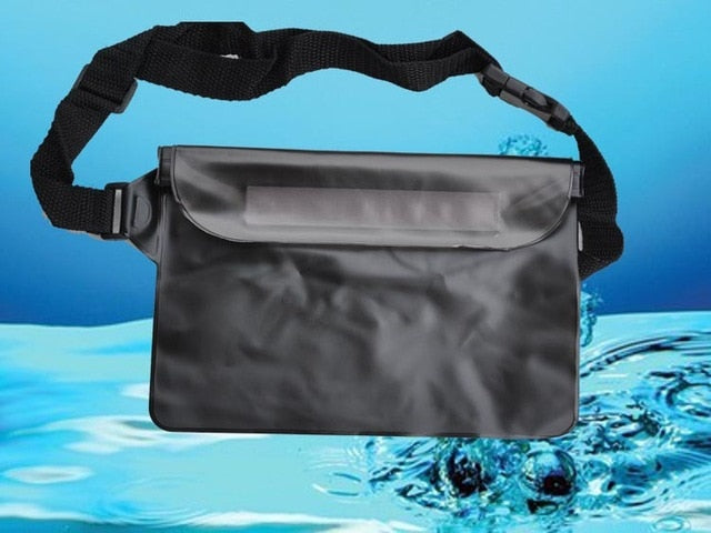 Agatha Travel Waterproof waist bag Black