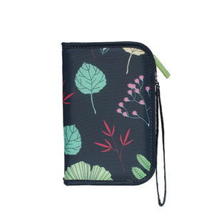 Agatha Travel Document Holder Wallets Colorful flowers