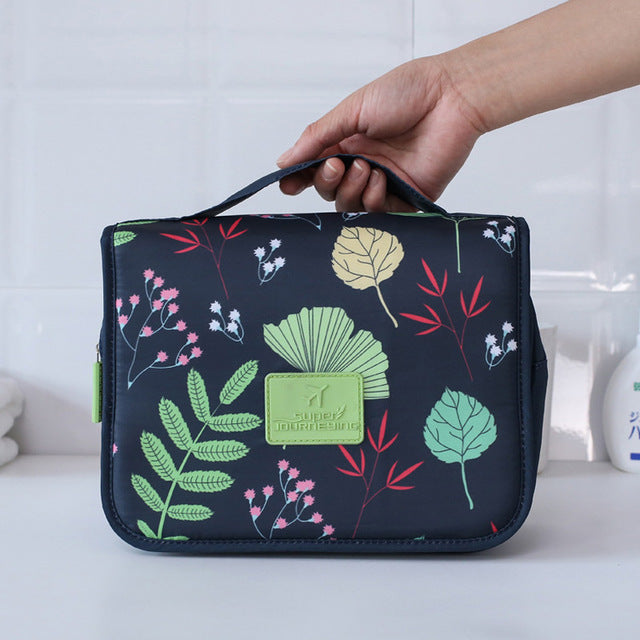 Agatha Travel Accessories Toiletry Bags Colorful flower