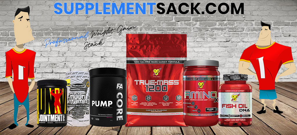 Weight Gain Supplement Stack 3 Of 6 Product Supplementsack