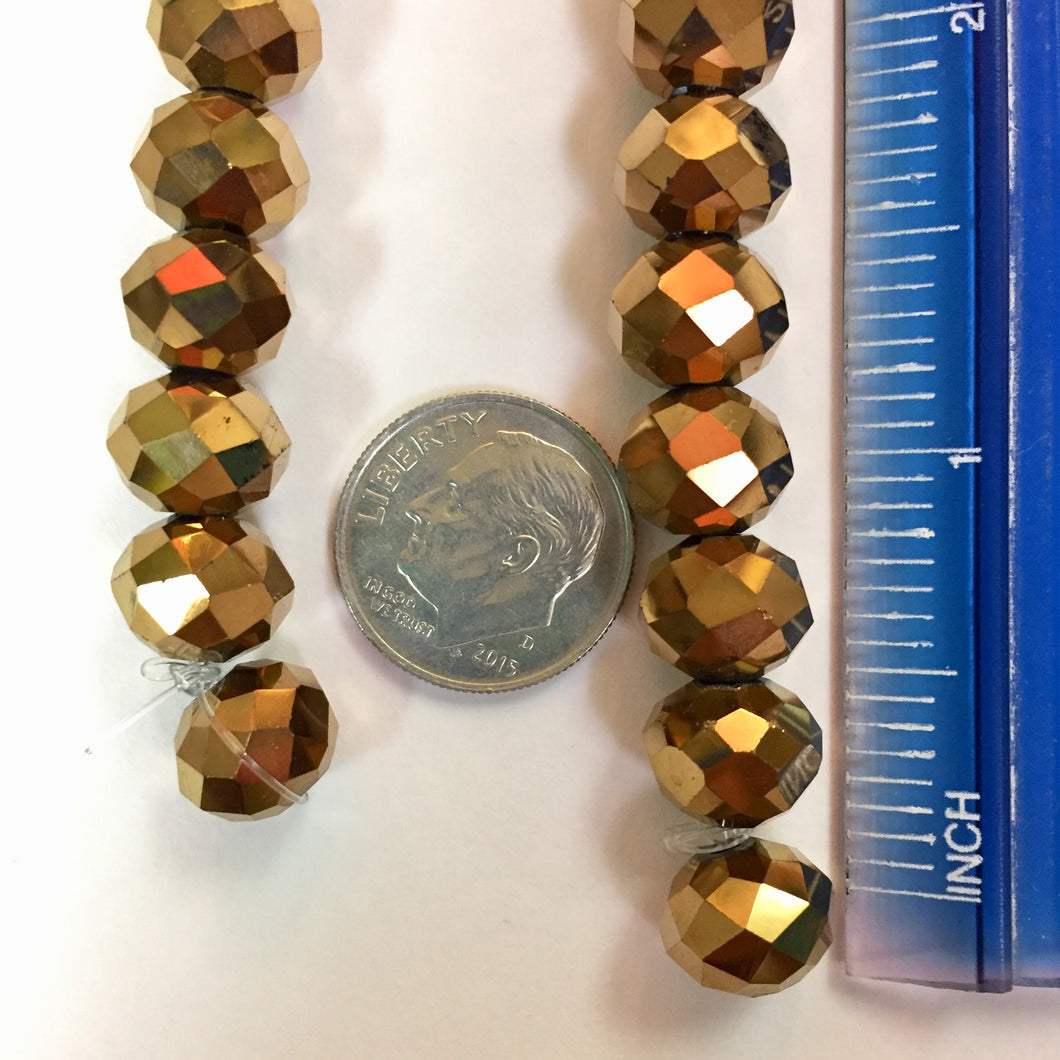 7-24-18-B Bronze Abacus Chinese Crystal Beads