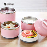 Cute Japanese Thermal Lunch Box