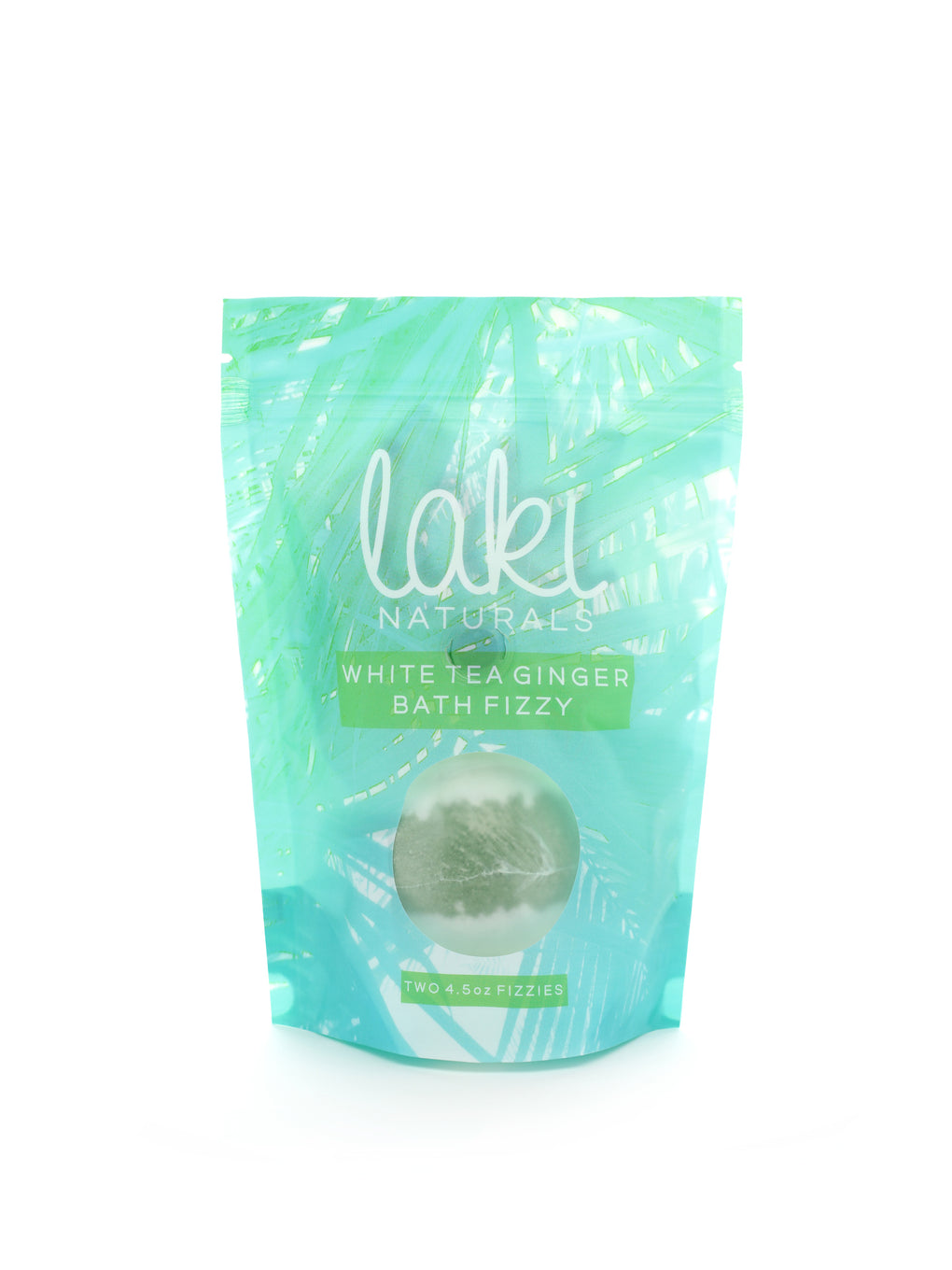 White Tea Ginger Bath Fizzies - Laki Naturals