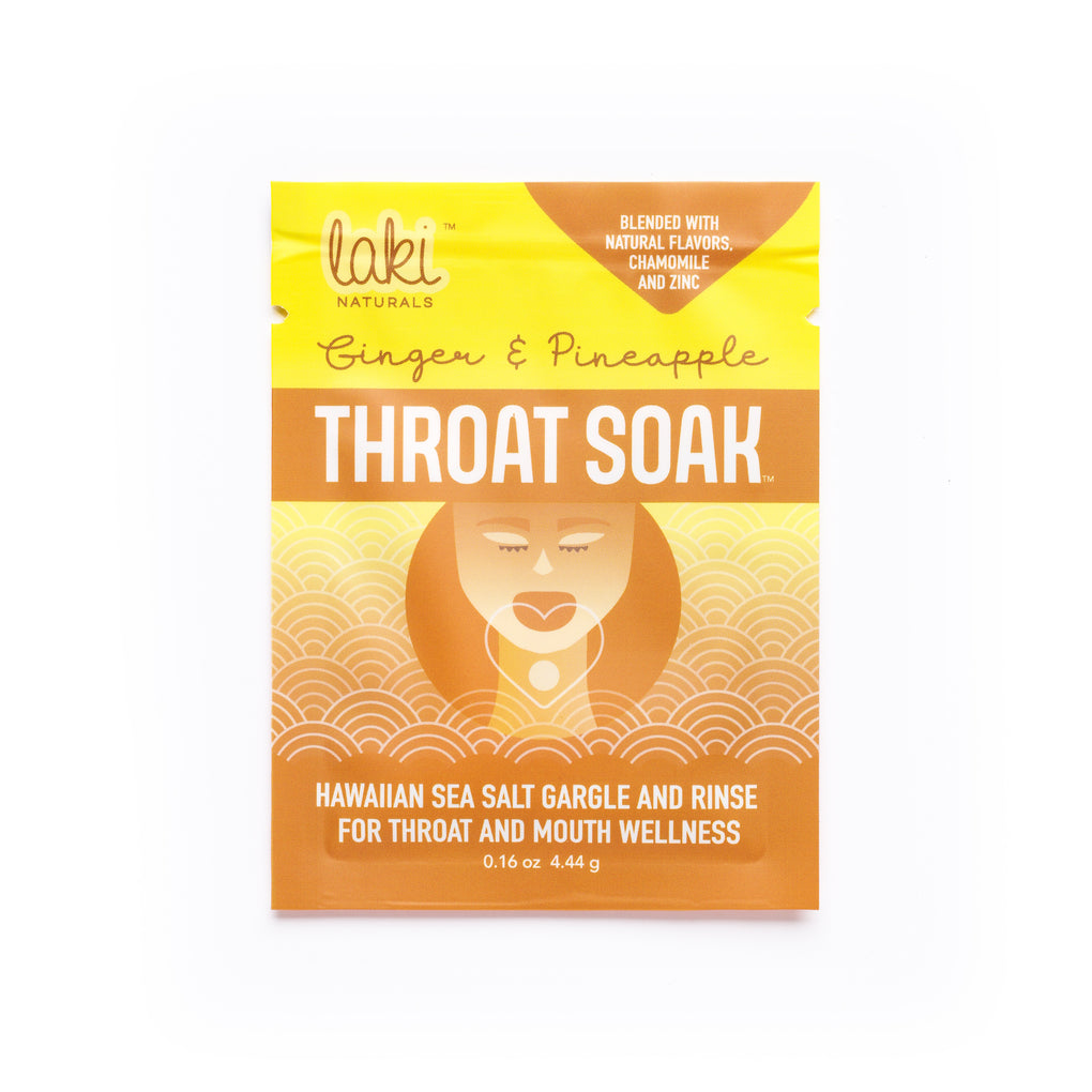 THROAT SOAK Sampler set of 8 - Laki Naturals