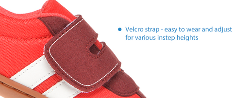 baby shoes with velcro strap