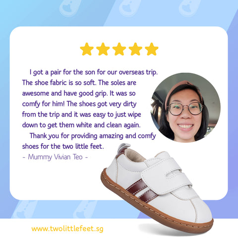 Mummy Vivian Teo Review Of Two Little Feet Henry Baby Shoes In White