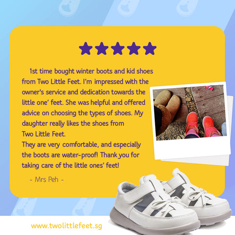 Mrs Peh Review Of Two Little Feet Winter Boots And Kid Bow Sandals In White