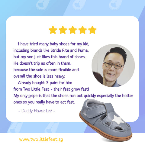 Daddy Howie Lee Review Of Two Little Feet Eugene Baby Sandals In Grey