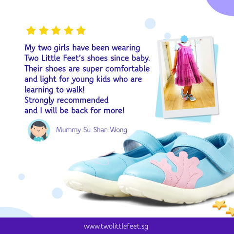 Mummy Su Shan Review of Two Little Feet Ariel Kids Sandals