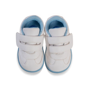 Aurora Baby Shoes White/Capri