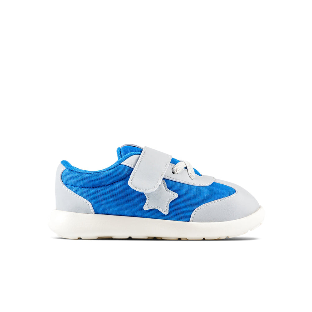 Joey Kids Shoes in Blue Textile