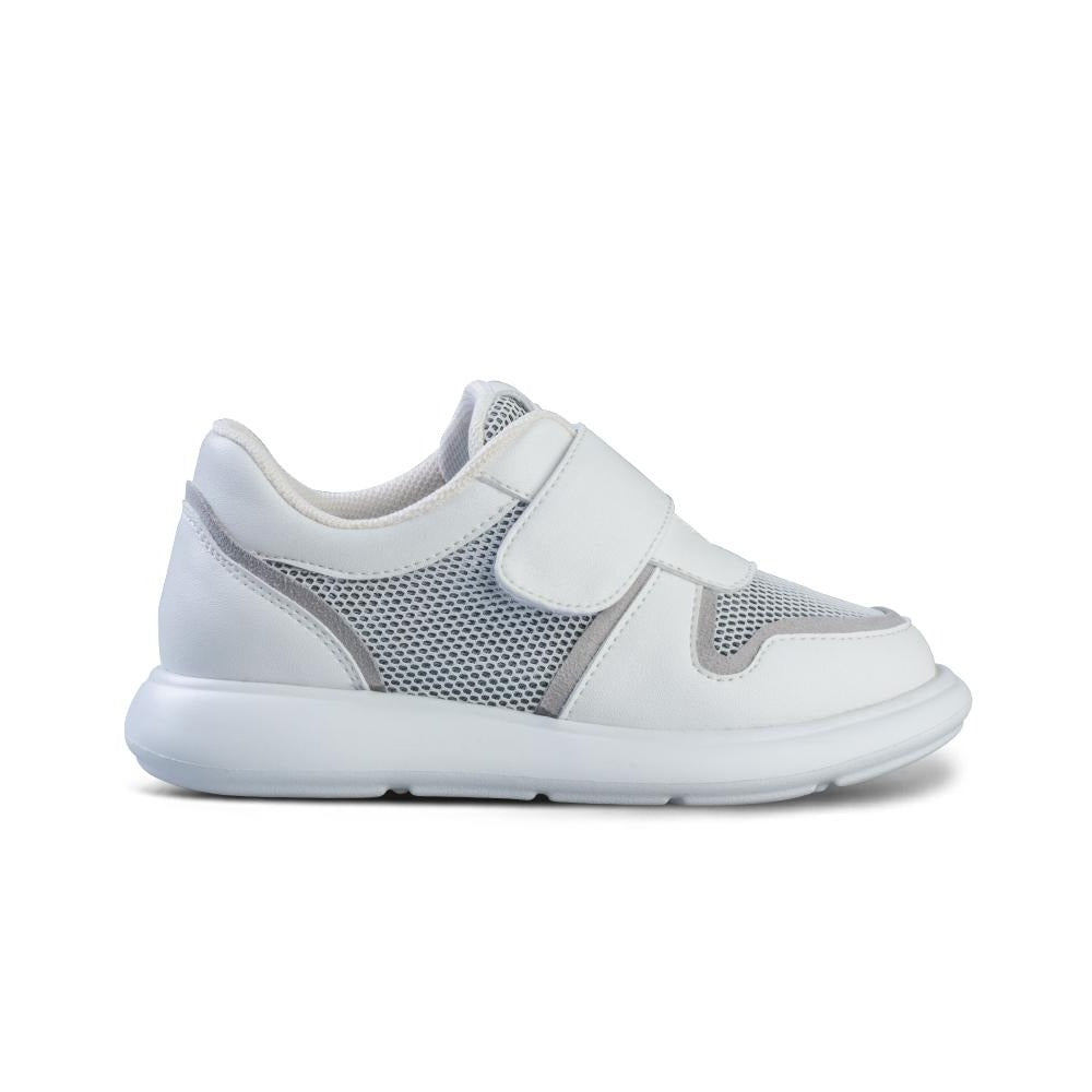 Little Blue Lamb comfortable kids shoes in white