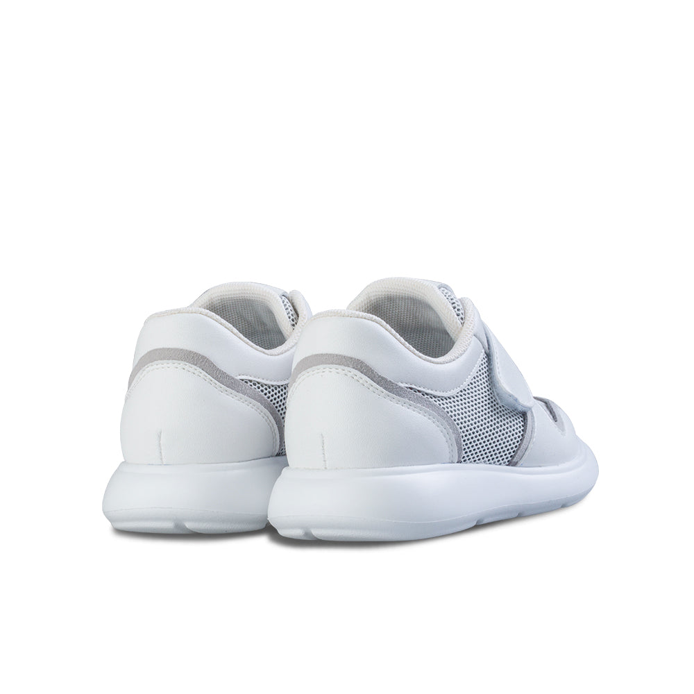 Little Blue Lamb comfortable toddler shoes in white