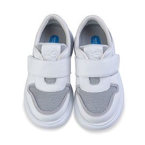 Little Blue Lamb comfortable kids sneakers in white
