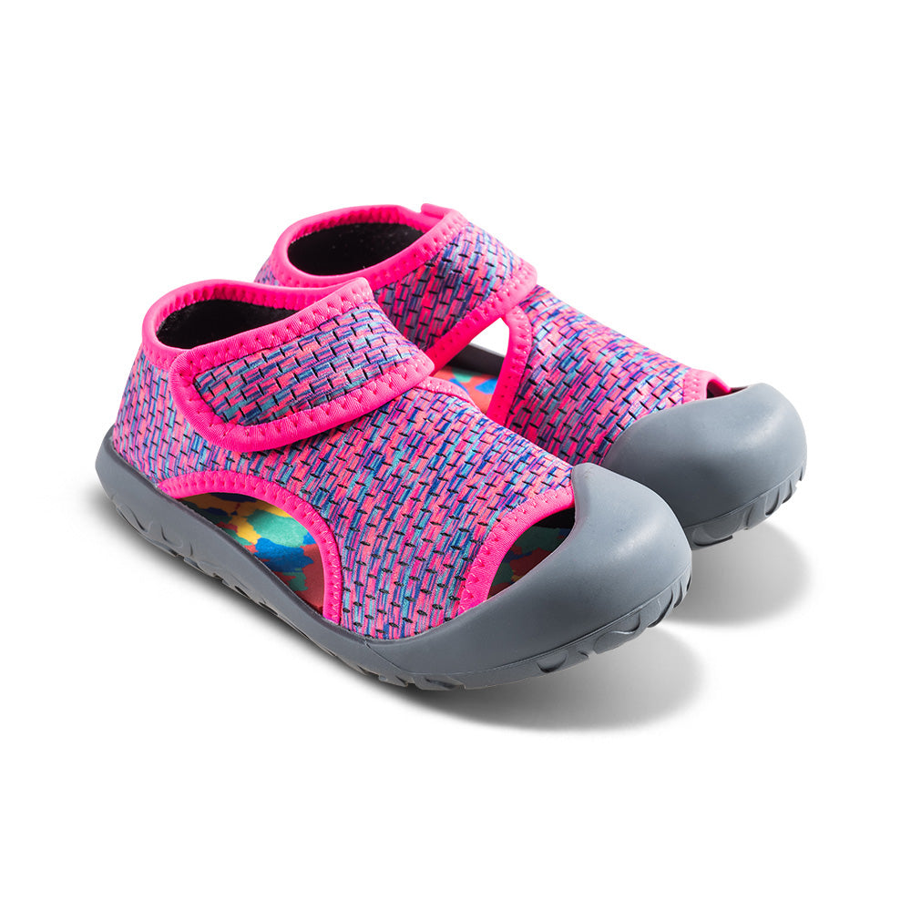 Pixa Kids Beach Sandals in Violet