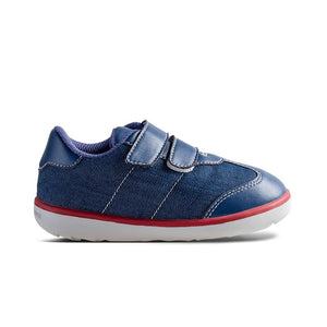 Little Blue Lamb comfortable children shoes in navy
