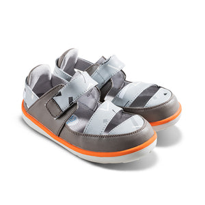 [Limited Edition] Philip Graffiti Kids Sandals in Grey