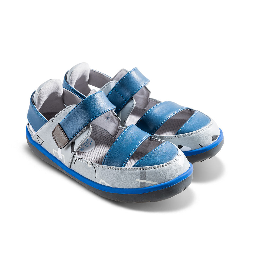 [Limited Edition] Philip Graffiti Kids Sandals in Navy
