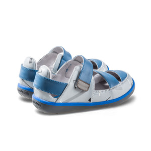 Little Blue Lamb comfortable toddler sandals in blue