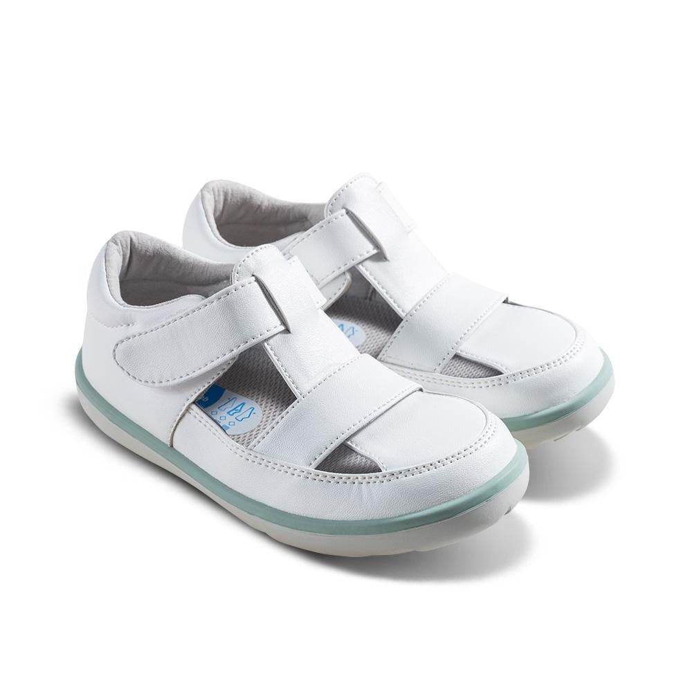 [NEW] William Kids Sandals in White