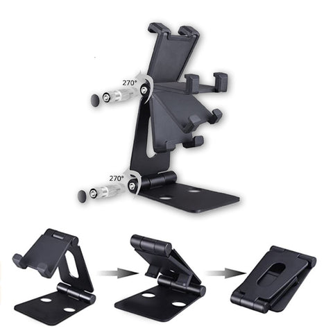 Foldable Duo Rotation Phone Stand