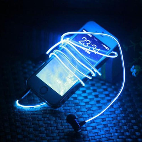 Phone Accessories - Magic Light LED Earphone
