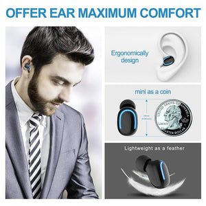 Phone accessories- Wireless Earphone Latest Bluetooth 5.0