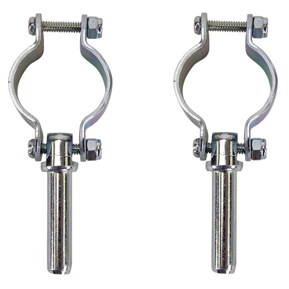 Whitecap Clamp-On Oarlocks - Zinc Plated [S-3541C]