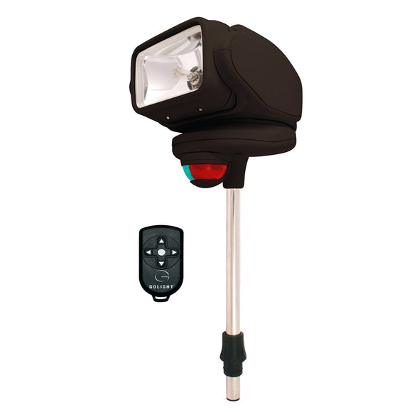 Golight Gobee Stanchion Mount w-Wireless Remote - Black [2151]
