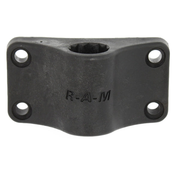 RAM Mount RAM Rod 2000 Bulkhead Mounting Base Only [RAM-114BMU] - RAM Mounting Systems