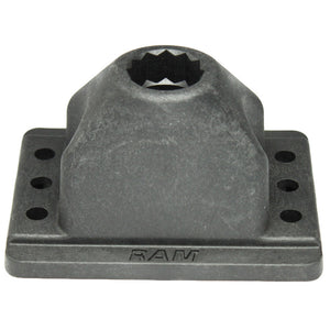 RAM Mount RAM Rod 2000 Deck & Track Base [RAM-114DTM5] - RAM Mounting Systems