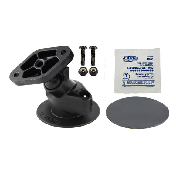 RAM Mount Flex Stick On Base w-Snap Link Mount [RAP-SB-178U] - RAM Mounting Systems
