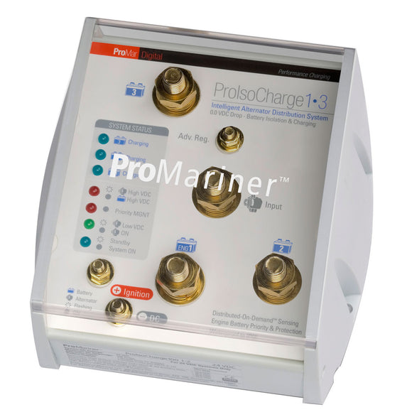 ProMariner ProIsoCharge Battery Isolator 120Amp 1-Alt 3-Bat - 12V [23124] - ProMariner