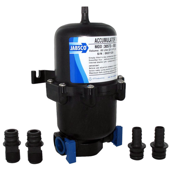 Jabsco .65L Mini Accumulator Tank w/Internal Bladder [30573-0003]