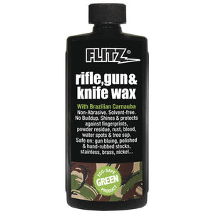 Flitz Rifle, Gun & Knife Wax - 7.6 oz. Bottle [GW 02785]
