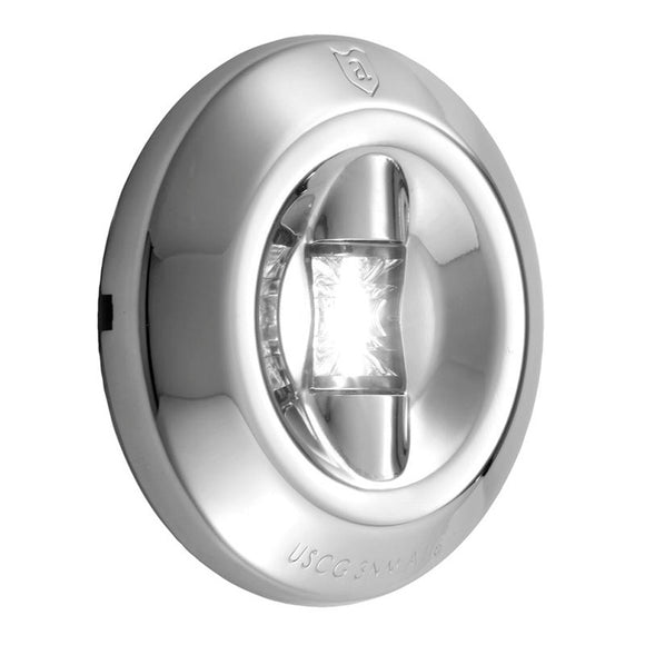 Attwood LED 3-Mile Transom Light - Round [6556-7] - Attwood Marine