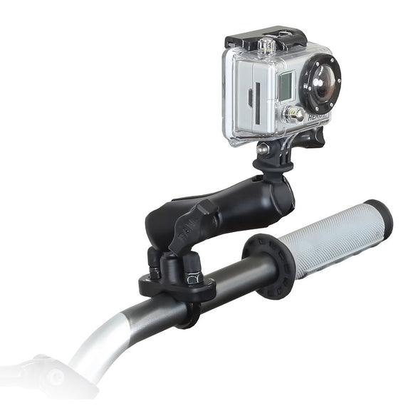 RAM Mount GoPro Hero Adapter Handlebar Rail Mount [RAM-B-149Z-GOP1U] - RAM Mounting Systems