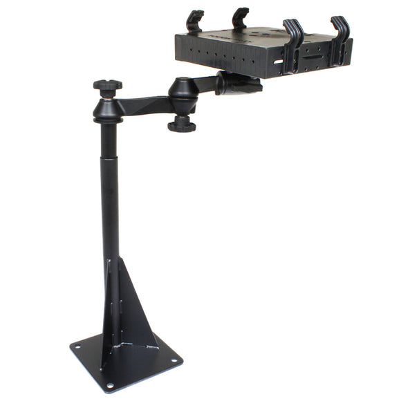 RAM Mount Universal Drill-Down Laptop Mount [RAM-VBD-122-SW1] - RAM Mounting Systems